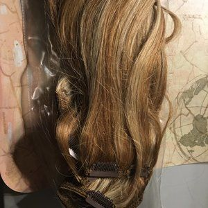 Two Human Hair Extensions - 104